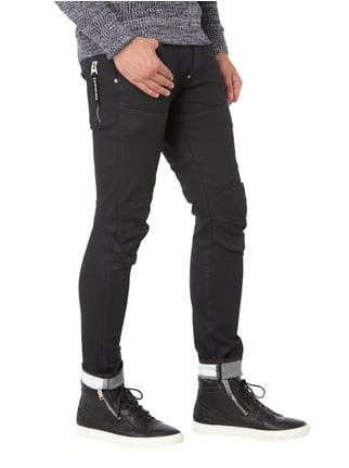 G-Star Raw Coated Slim Fit 5-Pocket-Jeans Schwarz - 1