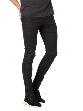 G-Star Raw Coated Super Slim Fit 5-Pocket-Jeans Schwarz - 1