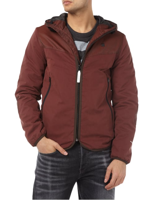 G-Star Raw Jacke mit Kapuze Bordeaux Rot - 1