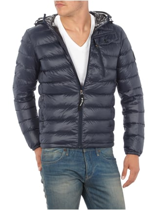 G-Star Raw Light-Daunen Steppjacke mit Kapuze Marineblau - 1