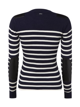 G-Star Raw Pullover mit Applikationen Dunkelblau - 1