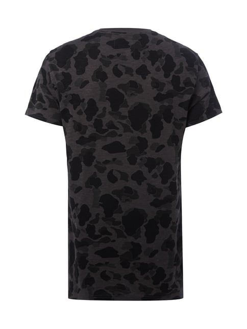 G-Star Raw Regular Fit T-Shirt mit Camouflage-Muster Dunkelgrün - 1