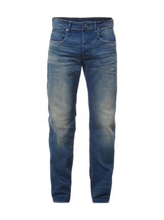Sand Washed Jeans im Loose Fit Blau / Türkis - 1