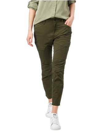 G-Star Raw Skinny Fit Cargohose mit Stretch-Anteil Olivgrün - 1