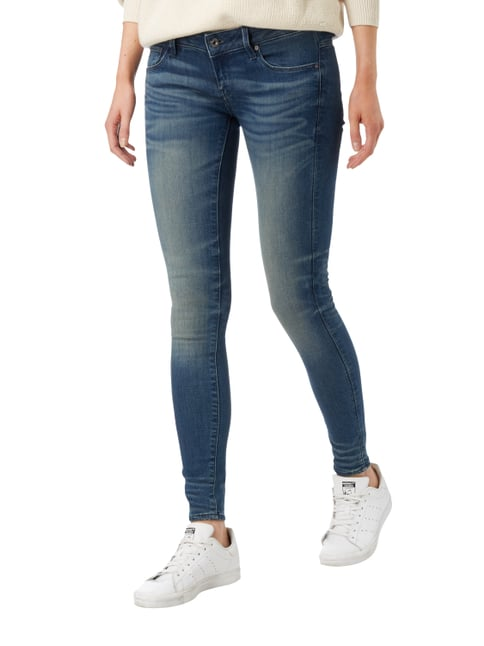 G-Star Raw Stone Washed Skinny Fit Low Rise Jeans Jeans - 1