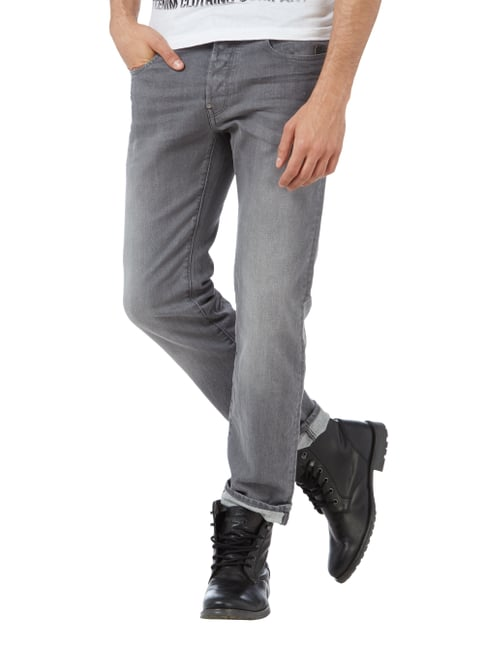 G-Star Raw Stone Washed Straight Fit Jeans Hellgrau - 1