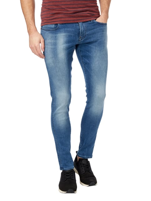 G-Star Raw Stone Washed Super Slim Fit Jeans Bleu - 1