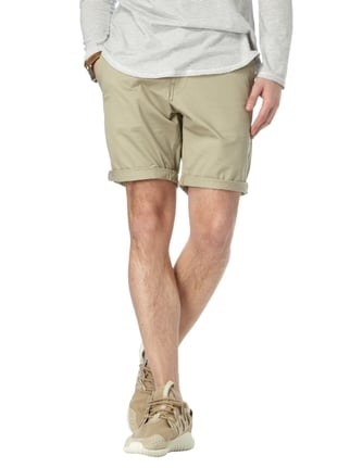 G-Star Raw Straight Fit Bermudas mit Stretch-Anteil Beige - 1