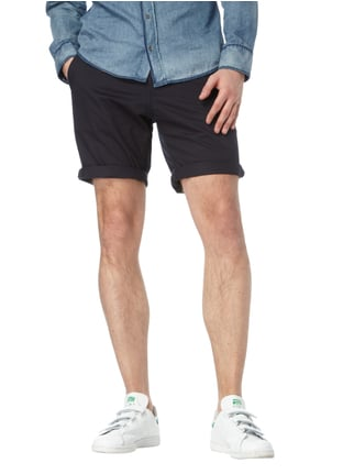 G-Star Raw Straight Fit Bermudas mit Stretch-Anteil Marineblau - 1