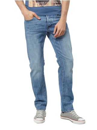 G-Star Raw Straight Fit Stone Washed Jeans Jeans - 1