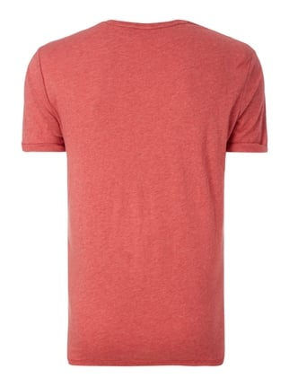 G-Star Raw T-Shirt in Melangeoptik Rot meliert - 1