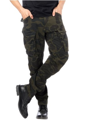 G-Star Raw Tapered Fit Cargohose mit Camouflage Dunkelgrau - 1