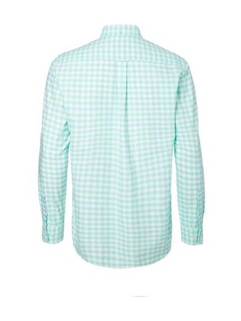 Gant Regular Fit Freizeithemd mit Vichy Karo Mint - 1