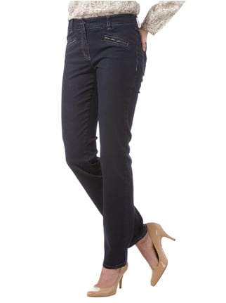 Gerry Weber Edition One Washed Straight Fit Jeans Marineblau - 1