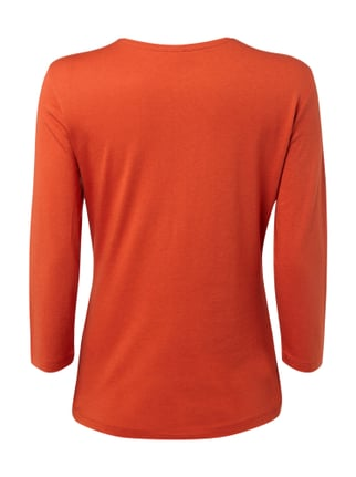 Gerry Weber Edition Shirt mit Ziersteinbesatz Orange - 1