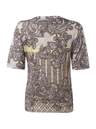 Gerry Weber T-Shirt mit Paisleymuster Gelb - 1