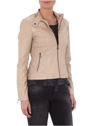 Guess Biker-Jacke in Leder-Optik Beige - 1