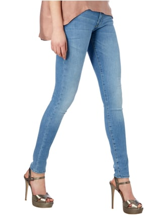Guess Stone Washed Low Rise Skinny Fit Jeans Jeans - 1