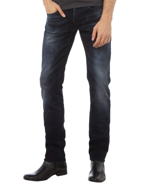 Guess Stone Washed Slim Straight Fit Jeans Jeans - 1