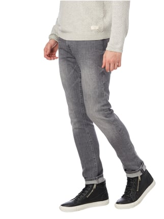 Guess Stone Washed Super Skinny Fit Jeans Anthrazit - 1