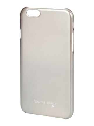iPhone Case in Metallicoptik Grau / Schwarz - 1