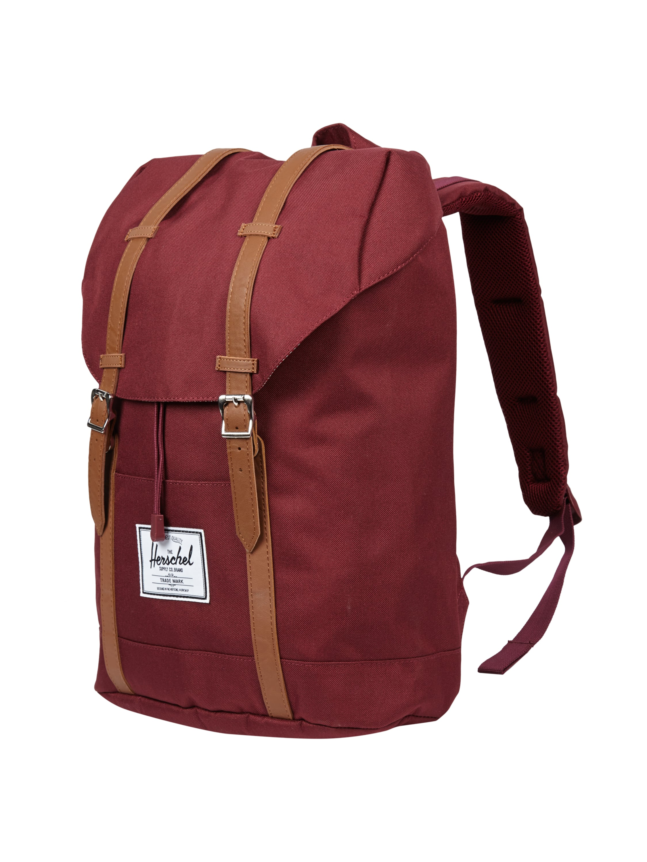 herschel rucksack mit gepolstertem r cken in rot online kaufen 9475178 p c online shop. Black Bedroom Furniture Sets. Home Design Ideas