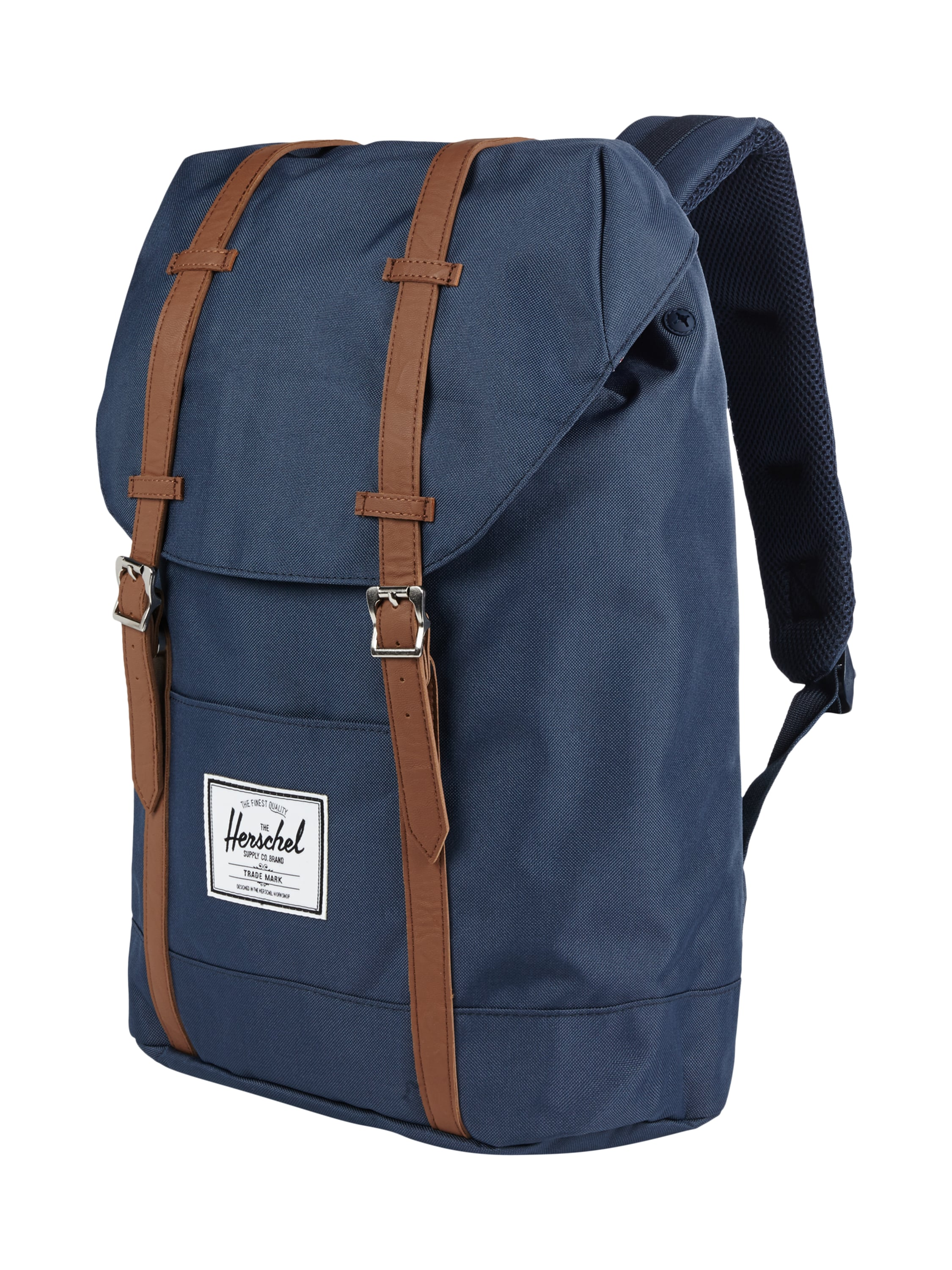herschel rucksack mit gepolstertem r cken in blau t rkis online kaufen 9505212 p c online shop. Black Bedroom Furniture Sets. Home Design Ideas