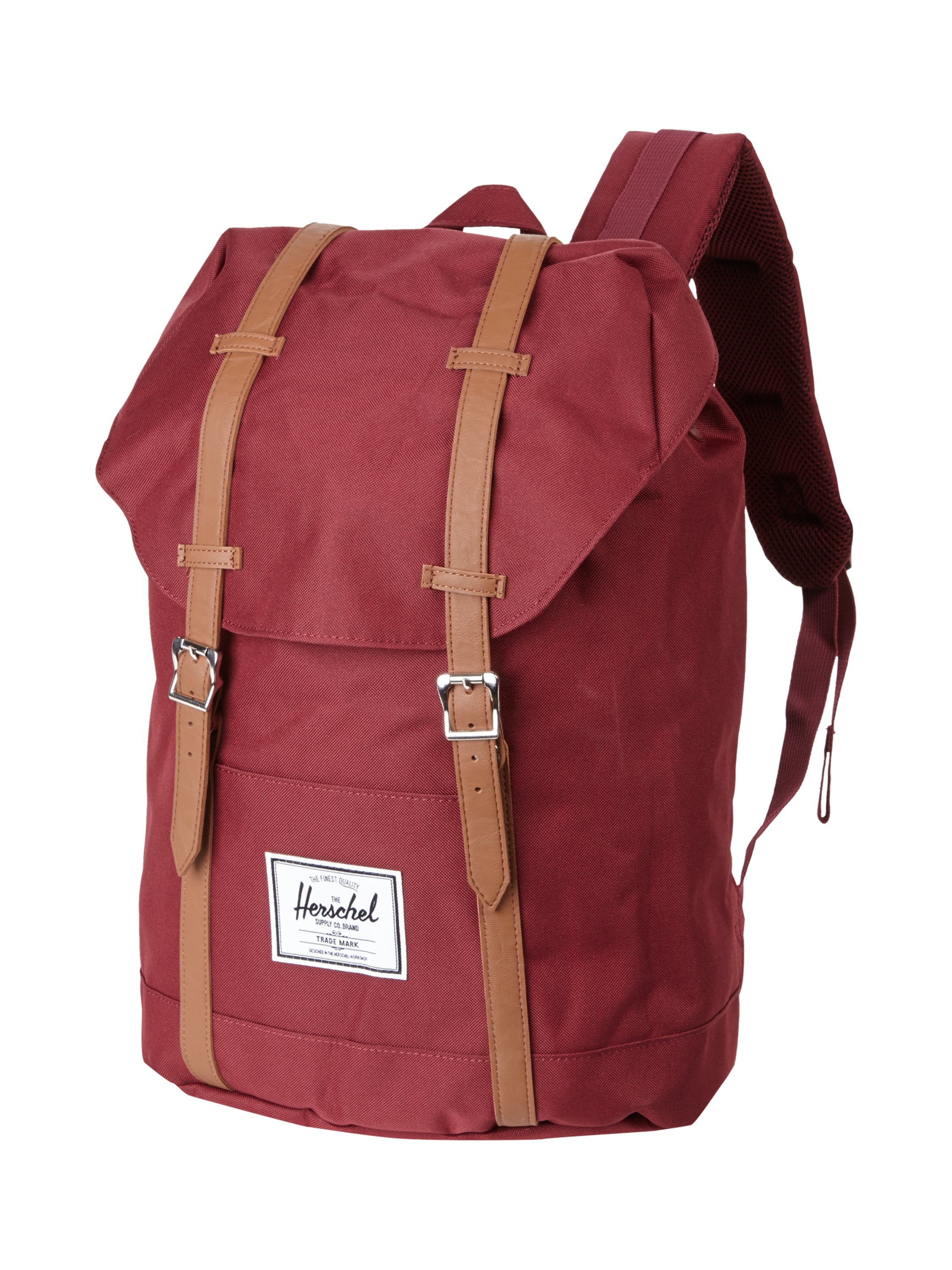 herschel rucksack mit laptopfach in rot online kaufen 9309724 p c online shop. Black Bedroom Furniture Sets. Home Design Ideas