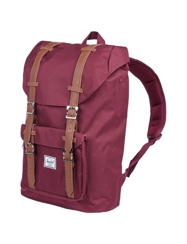 herschel rucksack mit laptopfach in rot online kaufen 9514255 p c online shop. Black Bedroom Furniture Sets. Home Design Ideas