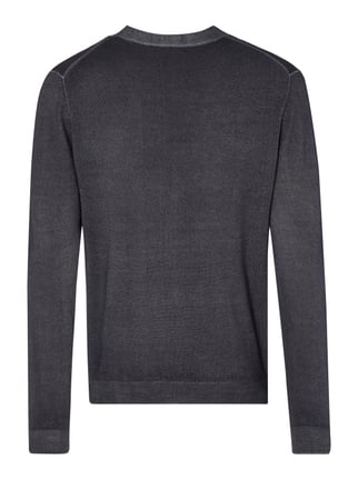 Paul Rosen Men Cardigan aus reiner Wolle Anthrazit - 1