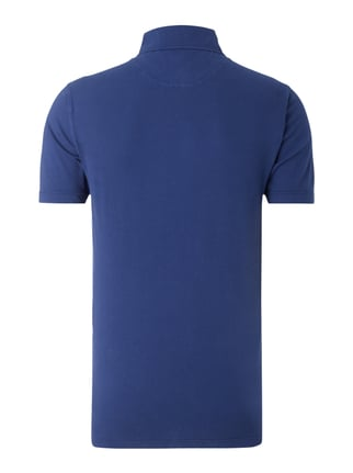 Paul Rosen Men Poloshirt aus Baumwoll-Elasthan-Mix Royalblau - 1