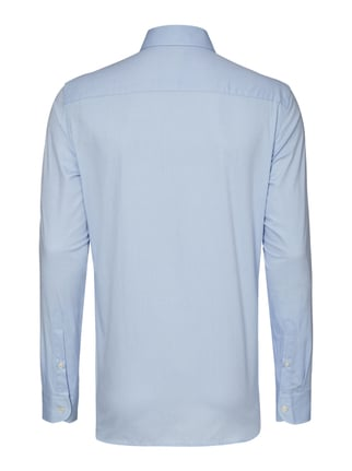 Paul Rosen Men Regular Fit Business-Hemd mit Webmuster Bleu - 1