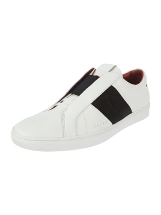 Slip-On Sneaker 'Post_Slon_It' aus Leder Weiß - 1