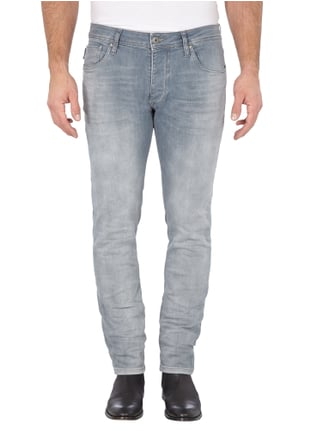 Jack & Jones Bleached Slim Fit Jeans Hellgrau - 1