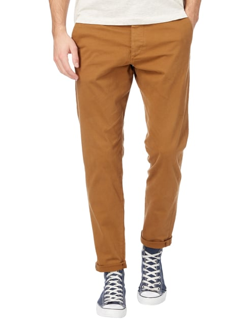 Jack & Jones Chino aus Baumwoll-Elasthan-Mix Camel - 1