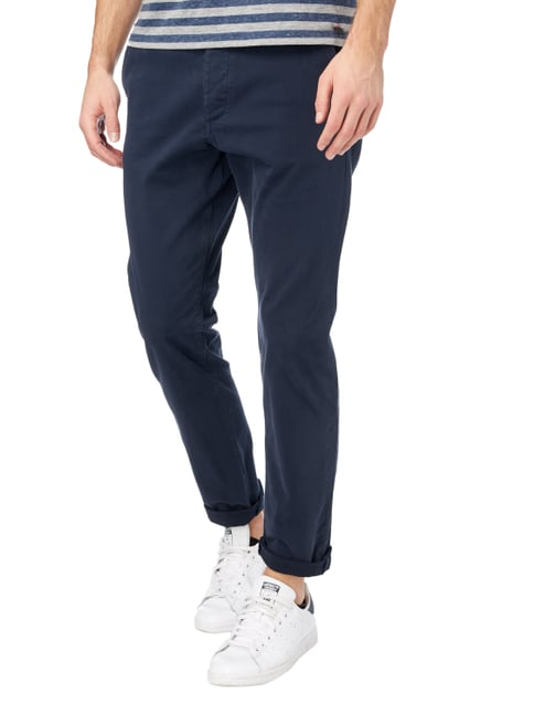 Jack & Jones Chino aus Baumwoll-Elasthan-Mix Marineblau - 1
