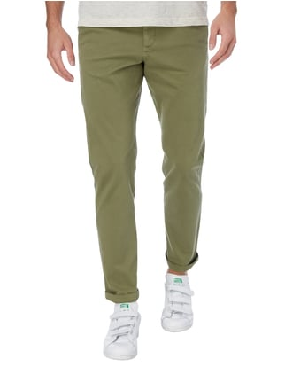 Jack & Jones Regular Fit Chino mit Stretch-Anteil Olivgrün - 1