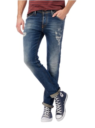 Jack & Jones Slim Fit 5-Pocket-Jeans im Destroyed Look Jeans - 1