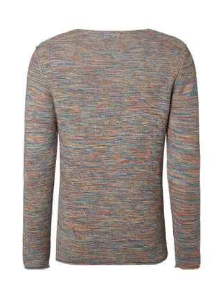 Jack & Jones Strickpullover in bunter Melangeoptik Mittelgrau meliert - 1