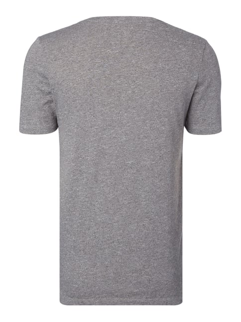 Jack & Jones T-Shirt mit Logo-Print Anthrazit meliert - 1