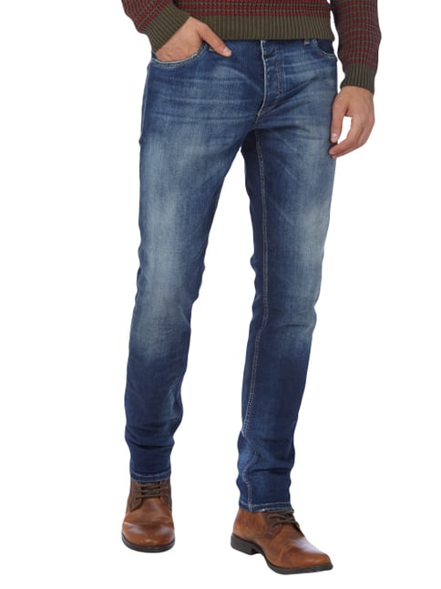 Jack & Jones Used Look Slim Fit Jeans Jeans - 1