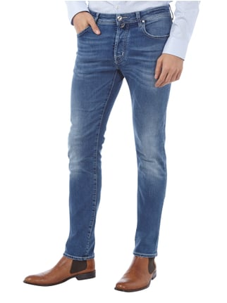 Jacob Cohen Jeans im Used Look inklusive Halstuch Jeans - 1