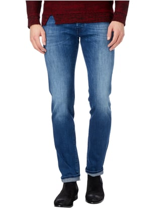 Jacob Cohen Stone Washed Jeans mit Knopfleiste Jeans - 1