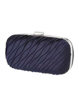 Box Clutch mit optionalem Kettenriemen Blau / Türkis - 1