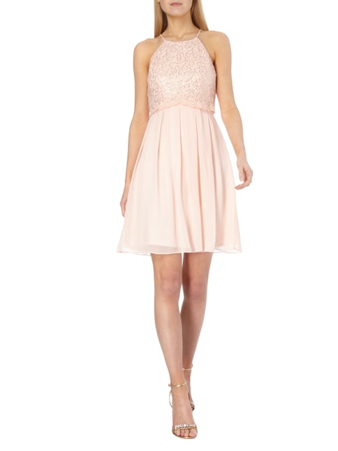 Jake*s Cocktail Cocktailkleid aus zartem Chiffon in Rosé - 1