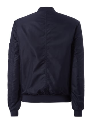 Jake*s Collection Bomber mit Wattierung Marineblau - 1