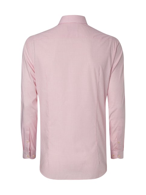 Jake*s Slim Fit Business-Hemd mit Haifischkragen Rosa - 1