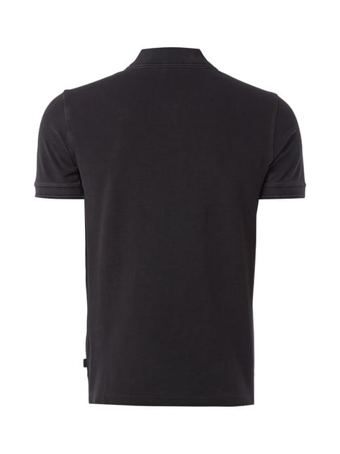 Joop! Poloshirt im Washed Out-Look Graphit - 1