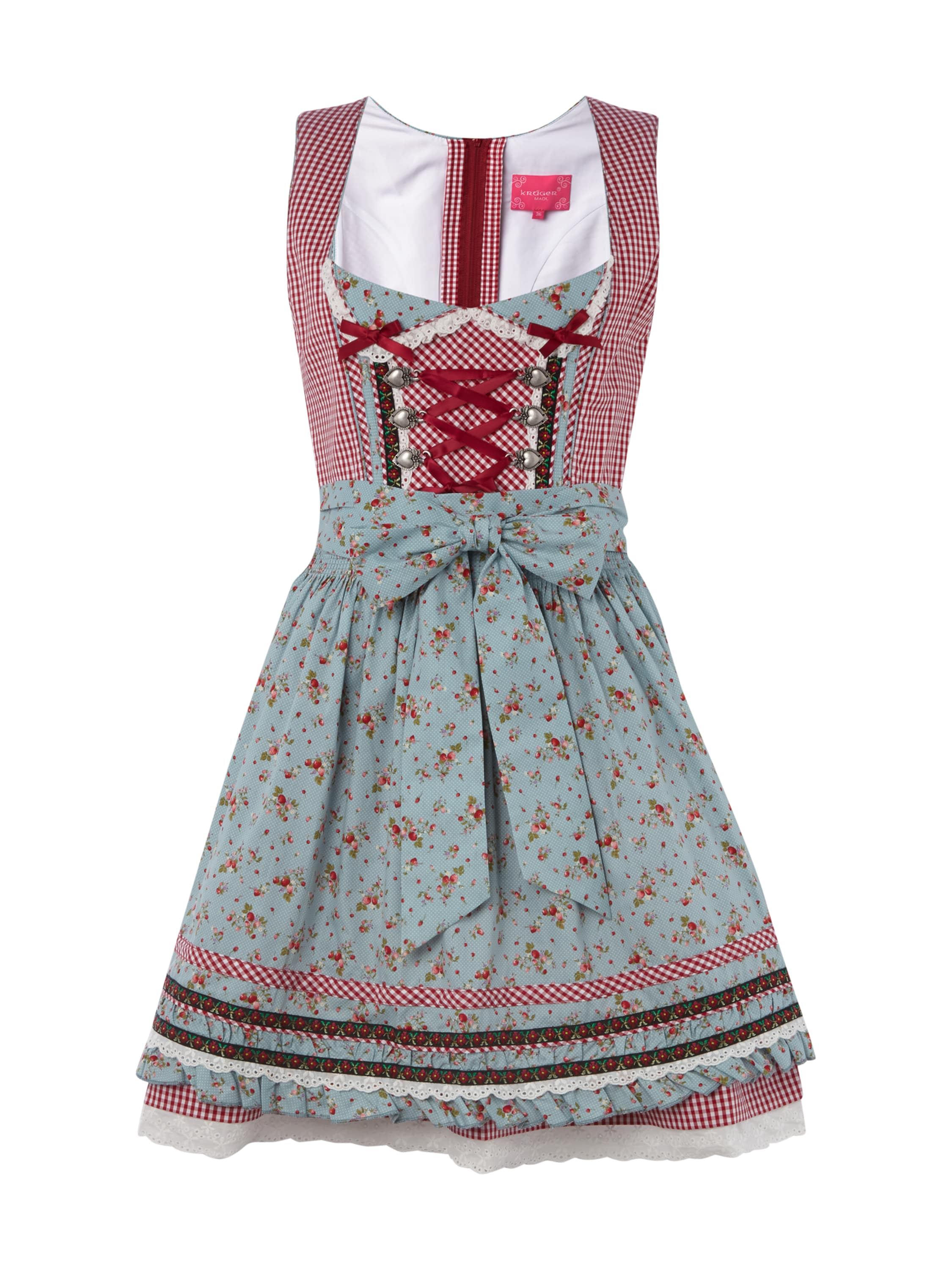 dirndl mit sch rze und vichy karo fashion id online shop. Black Bedroom Furniture Sets. Home Design Ideas