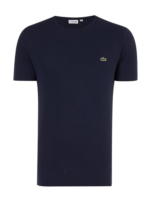 Regular Fit T-Shirt aus Baumwolle Blau / Türkis - 1